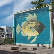 Kleurrijke muurschilderingen verlevendigen Oude Noorden