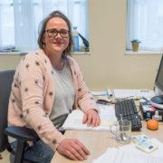 Nathalie van Leeuwen, een originele beheerder