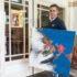 Syrische kunstenaar in Bergsingelkerk