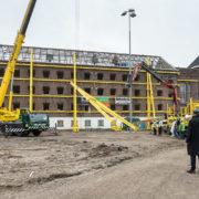 Sloop binnenzijde voormalige Noordsingel gevangenis gestart