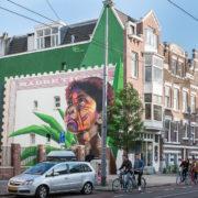 Muurschildering Noorderhof