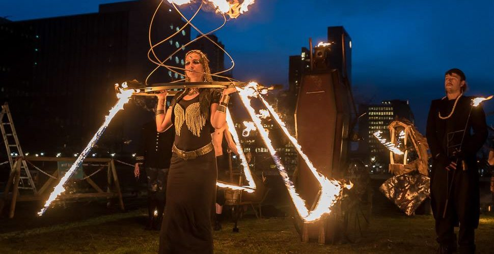 Vuur en Vlam festival verwarmt