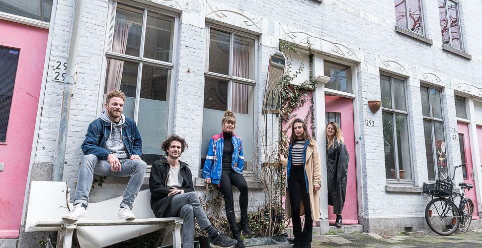 Tijdelijke bewoning Vinkenstraat geeft jongeren een boost