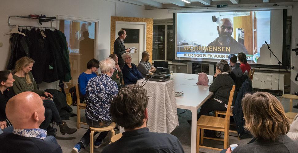 Participatieavond 'Samen Leven gaat door' van Wijk TV