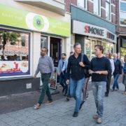 Wethouder Bas Kurvers bezoekt Zwartjansstraat