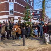 Kerst, ontmoeting in vernieuwde buurt