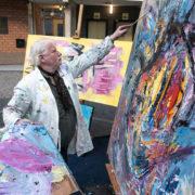 Kunsten show in Noord