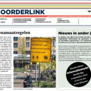 Noorderlink, Nieuws ontwikkelingen en publieke werken in  het Oude Noorden
