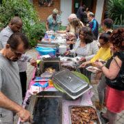 Barbecue afsluiting van bewogen seizoen