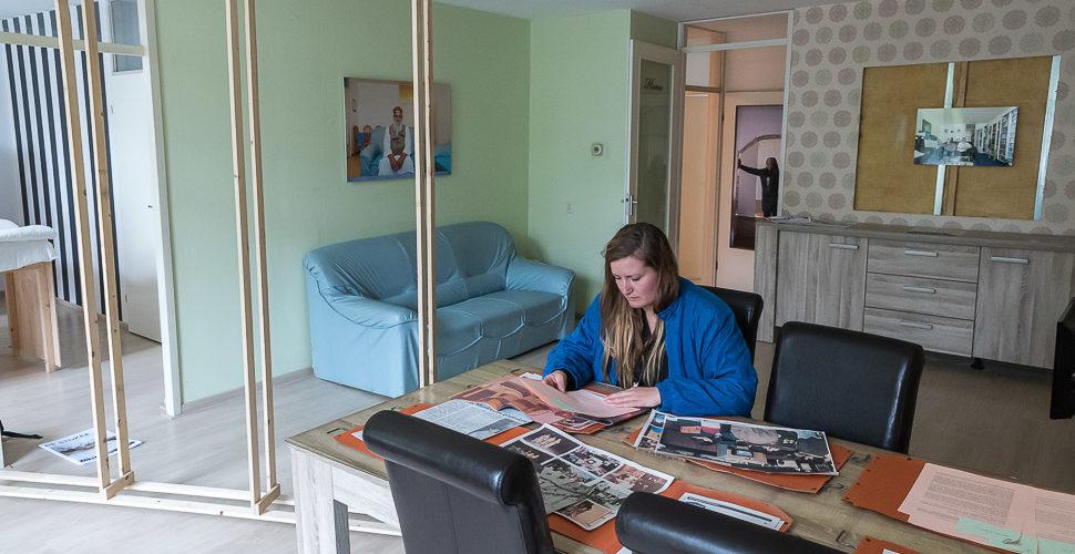 Heimwee Woning vormt collectief geheugen van straat in transitie