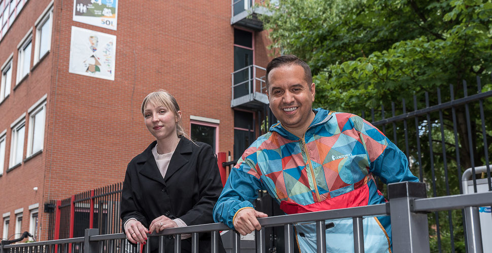 Een talentrijk duo werft en coacht vrijwilligers