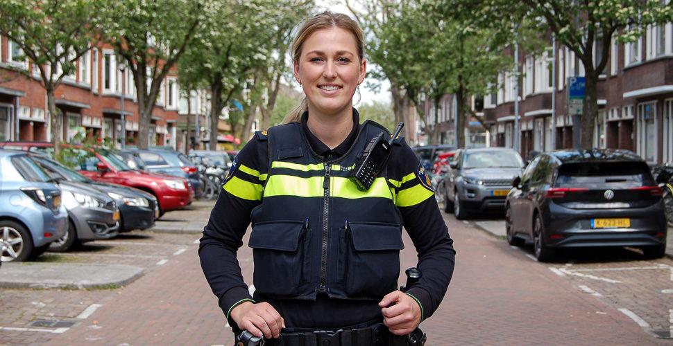 Nieuwe wijkagent van Bergpolder
